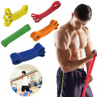 Heavy Duty Exercise Bands Latex Resistance Fitness GYM Powerlifting Assist Bands
