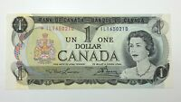 1973 Canada 1 One Dollar Prefix IL Replacement Asterix Circulated Banknote E306