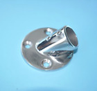 "Boat Hand Rail Fitting-30 Degree 7/8"" Round Base-Marine Stainless Steel"