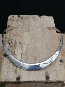 Vintage 925 Silver Torque Necklace. Collar. 35.9gms