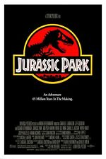 JURASSIC PARK MOVIE POSTER 24x36 Spielberg Dinosaurs