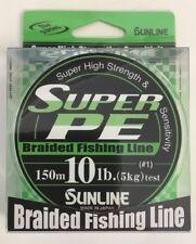 Sunline Super Pe #1 10lb/150mt