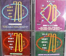 Very Best of the 70´s I-IV- zus.8 CDs