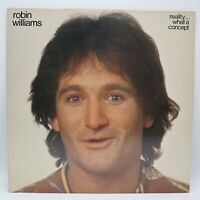 Robin Williams Reality... What A Concept Vinyl Record 1979 Casablanca Edited Ver
