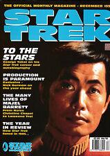 December Star Trek Film & TV Magazines in English