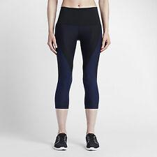 Nike Women's Zoned Sculpt Tight Training Capri SzXS 810967-010 Yoga Fitness $140