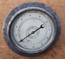 Vintage Budenberg Manchester  Pressure Gauge Industrial Stationary Engine