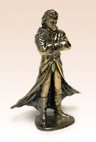 Miniatur Bronze Figur Dracula Vampirskulptur Kunsthandwerk selten +