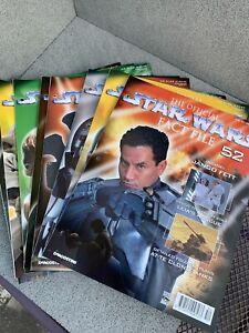 Star Wars Collector Magazines X 10 From Binder Range