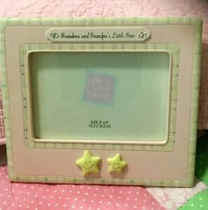 Grandchild Picture Frame By Russ Baby ~ Grandma & Grandpa's Little Star