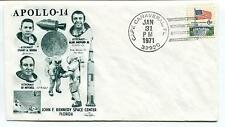 1971 Apollo 14 Roosa Shepard jr. Mitchell John F. Kennedy Center Space Cover