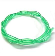 51825G Neon Green RC Engine Petrol Nitro Gas Fuel Line 1 Meter 4mm x 2.5mm 1/16