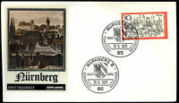 West Germany 1971Tourism Nuremberg FDC First Day Cover #C35659