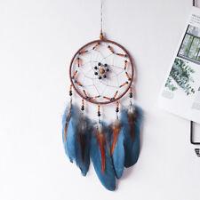 Lucky Feather Bead Dream Catcher Net Wall Hanging Home Car Decor Ornament Modish