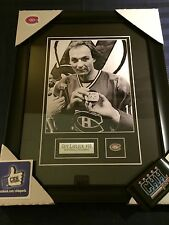 Guy Lafleur Montreal Canandiens Flower unsigned Frame 8x10 photo 500th goal NHL
