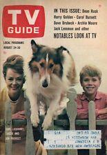 1963 TV Guide August 24 - Lassie; Donna Douglas in Japan; Jerry Van Dyke; Morton