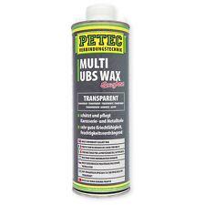 Petec UBS Wax TRANSPARENT Unterbodenschutz Steinschlagschutz 1 Liter Saugdose