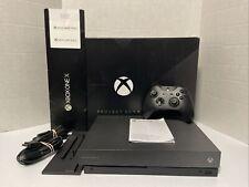 Microsoft Xbox One X Project Scorpio Edition 1TB Console - Original Box
