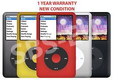 Apple iPod Classic 7th generazione 512 256 160 120 80 GB-nero argento oro rosso