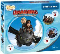 DRAGONS-DIE REITER VON BERK - STARTER-BOX 3 CD NEW