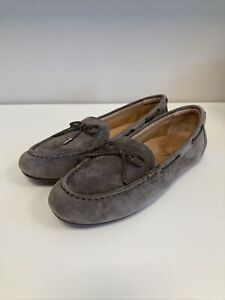 Vionic Womens Virginia Slip On Moccasin Shoes Size 9.5 Brown New