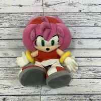 Rare Amy Plush Soft Toy Sonic The Hedgehog And Friends Sega Prize Europe