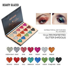 15Color Eyeshadow Palette Ultra Pigmented Mineral Pressed Glitter Diamond&Parity