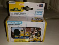 Micro MINION Playset - British Minions - 3 Figures - BRAND NEW CAKE TOPPERS?
