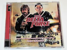 Alan Silvestri DELTA FORCE Chuck Norris Lee Marvin Soundtrack CD VG+