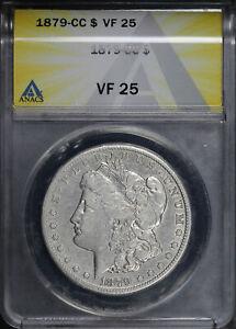 1879-CC Morgan Dollar ANACS VF-25