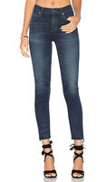 COH Citizens of Humanity Rocket High Rise Skinny Crop Cut Off Ellis Dark Size 29