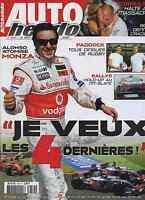 AUTO HEBDO n°1614 12/09/2007 GP ITALIE GT-FIA ADRIA RALLYE du MONT BLANC