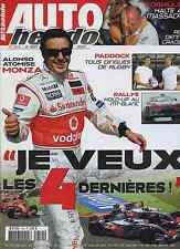 AUTO HEBDO n°1614 du 12 Septembre 2007 GP ITALIE GT-FIA ADRIA