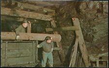 ASHLAND PA Timbering Coal Mine Vtg Anthracite Region Old Pennsylvania Postcard 2