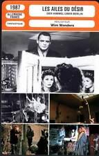 LES AILES DU DESIR-Ganz,Dommartin,Falk,Wenders(Fiche Cinéma)1987-Wings Of Desire