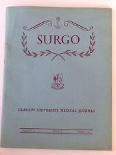 SURGO - GLASGOW UNIVERSITY MEDICAL JOURNAL - Whitsun 1951 Vol XVII Number 3 *