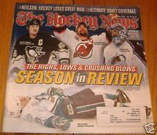 the hockey news july  2003 mario lemieux/ patrick roy