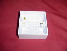 Caja de un solo socket montaje en superficie (caja posterior)