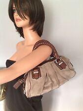 Bag Purse Genuine  Leather Suede Designer Quality Fashion Hobo Hip