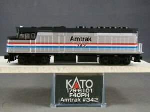 kato  N scale 176-6101 AMTRAK  F40 PH # 342  DC OR DCC    last one!