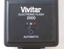 Vivtar Electronic Flash 2000 Manual/Automatic Unit for Pentax Cameras