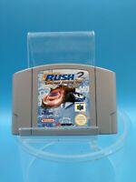 jeu video nintendo 64 loose BE EUR rush 2 extreme racing usa