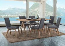 Solid Wood Rectangular Dining Furniture Sets
