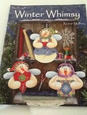Decorative Tole Painting Pattern Book Winter Whimsy