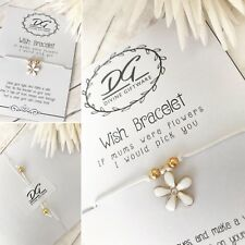 Wish Bracelet Mum Mothers Day/Birthday Jewellery Gift Mother of the Bride J15