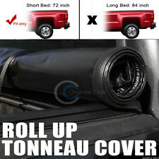 """ROLL-UP SOFT TONNEAU COVER 94-03 CHEVY S10/S15 SONOMA/96-00 HOMBRE 6 FT 72"""" BED"""