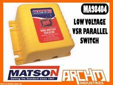 Matson 12v 140amp Dual Battery Isolator 4wd/truck/boat
