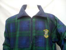 Men's Scottish Black Watch Tartan Jacket St Andrews Old Course - Golf,Gift S-2XL