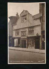 Yorkshire Yorks YORK Merchants Hall H H Scruton Haircutting PPC c1900/20s?