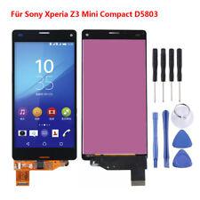 Para Sony Xperia Z3 Compact D5803 Pantalla táctil LCD Reemplazo Montaje Negro ES